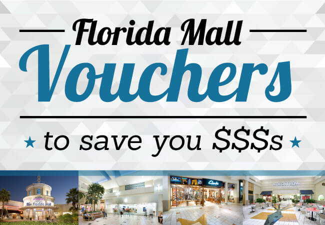 Florida mall discount coupons