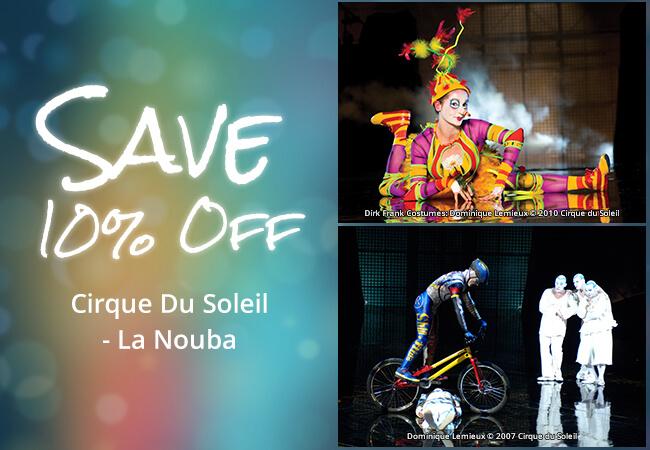 Cirque du Soleil La Nouba