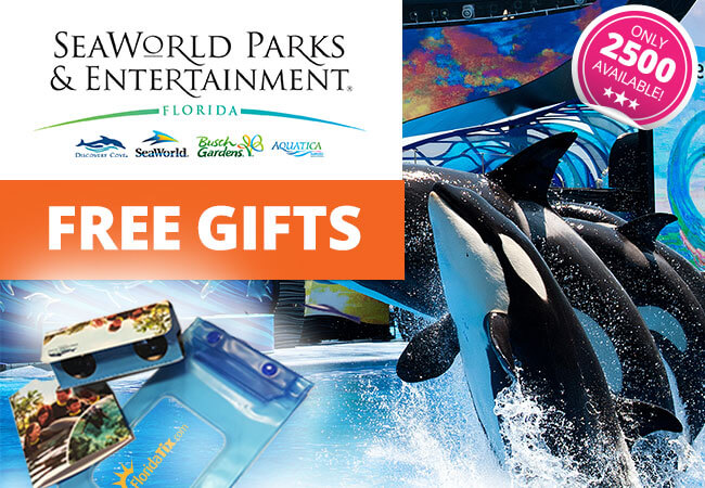 Free Gifts with SeaWorld Tickets