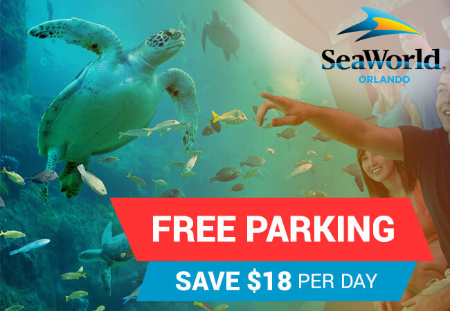 Free Parking at SeaWorld